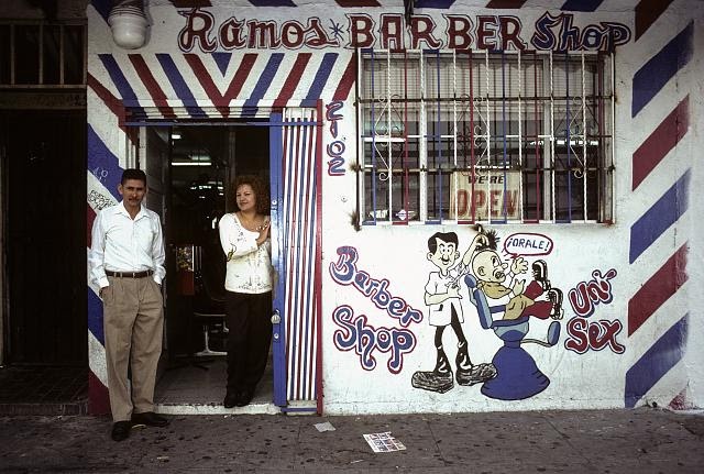Lupe y Jose, 2102 S. Central Ave., LA, 1997