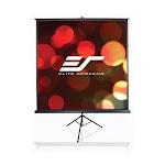 "Elite Screen T113UWS1 Tripod Series 113""(1:1) MaxWhite Projector Screen"