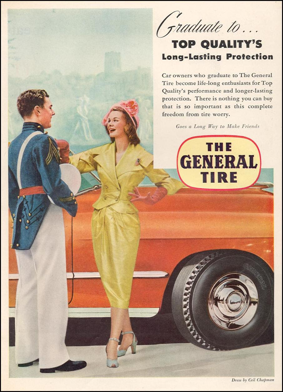 THE GENERAL TIRE NEWSWEEK 06/11/1951 p. 31