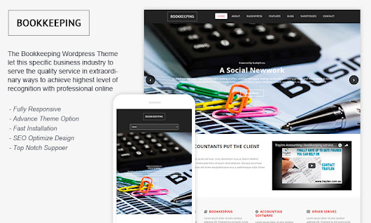 Download Free Bookkeeping WordPress Theme – Template Haunt