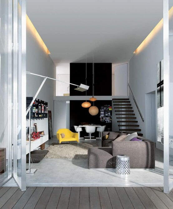 Brands Poliform and Varenna create the perfect urban apartment