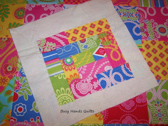 Quilting Patterns For Pillow Covers : Busy Hands Quilts: Quilt As You Go Pillow Cover