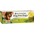 Green-n-pack Dog Poo Bags Xtra Giant Ties - 100 Pack,