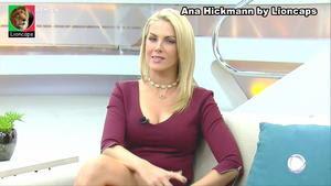 Ana Hickmann sensual no programa Hoje em Dia