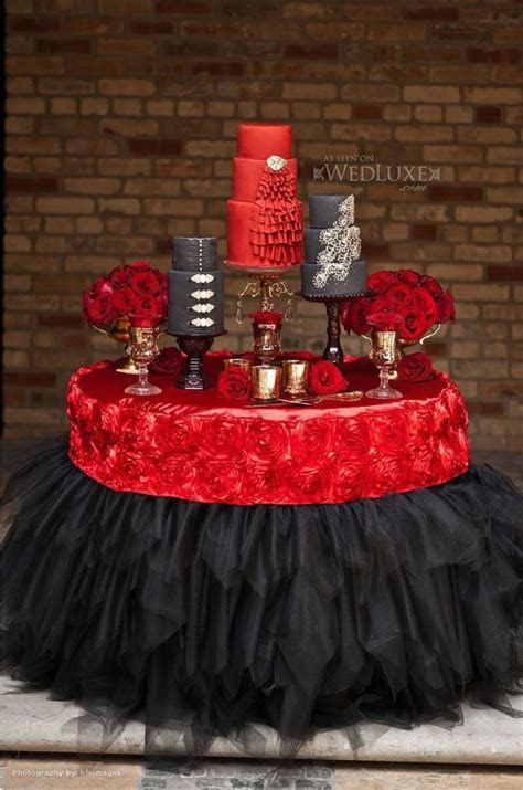25  best ideas about Red table decorations on Pinterest