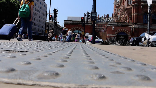 Tactile paving: The secret code that helps me get around - BBC News