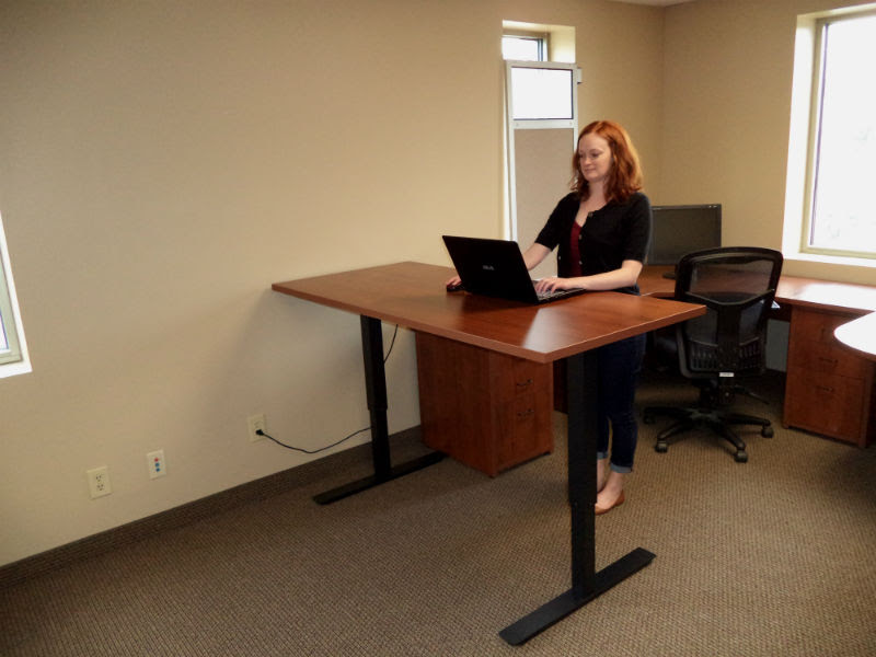 Stand Up Desks  Desq  We Create Space  Minnesota furniture for home and office