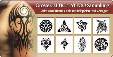 Tattoo Folien Vorlagen Motive Tribal Celtic Bilder