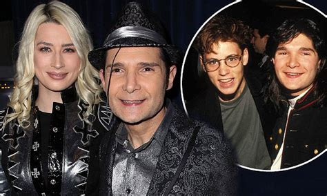 Corey Feldman and wife Courtney Anne Mitchell go to movies