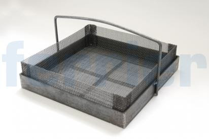 Fabrication Spotlight Series Part Two: Mesh Basket and Custom Screens