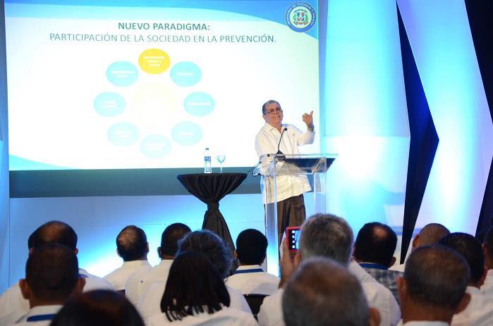 Amarante Baret confía nuevo modelo seguridad reducirá violencia en el país