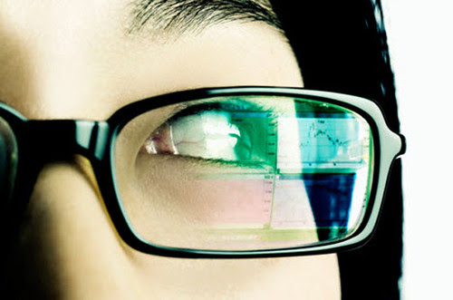 glasses with embedded video