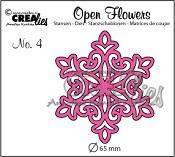 Open Flower stans nr. 4 / Open Flower die no. 4