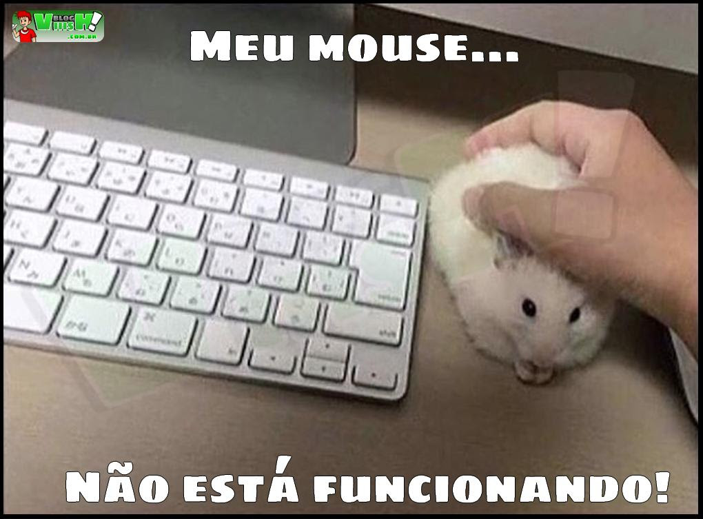 Blog Viiish - Mouse com problemas