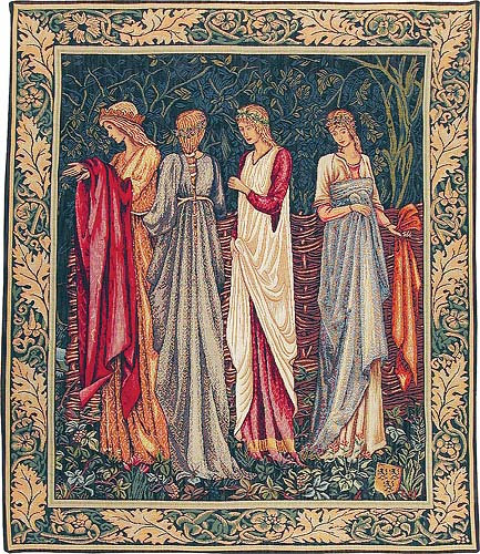 The Ladies of Camelot tapestry