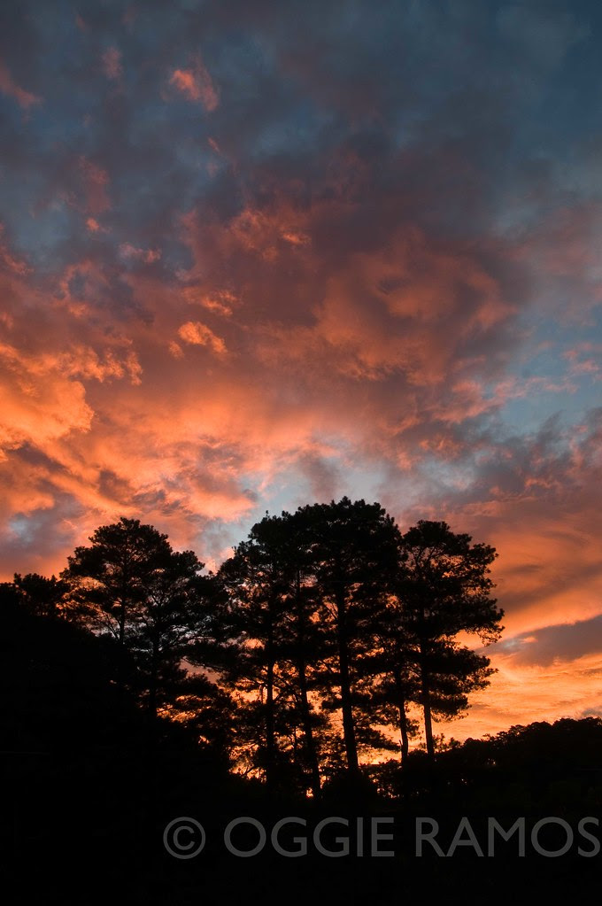 Sagada - Fiery Sunrise