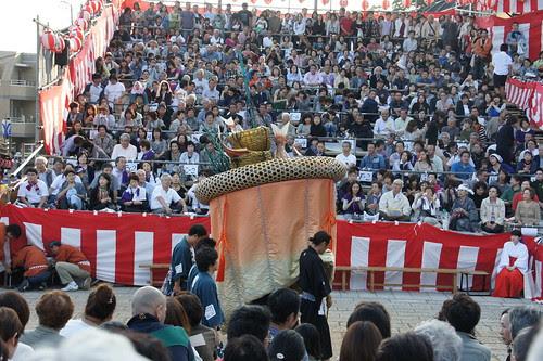 長崎くんち2012・魚の町・傘鉾