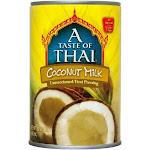 A Taste of Thai Coconut Milk, Unsweetened - 13.5 fl oz can