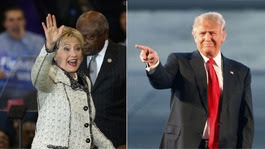 US Election 2016: Trump and Clinton push ahead on Super Tuesday