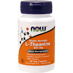 Now L-Theanine 200 mg 60 Capsules
