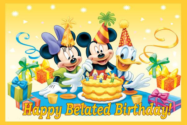 Free Happy Belated Birthday Images Download Free Clip Art Free