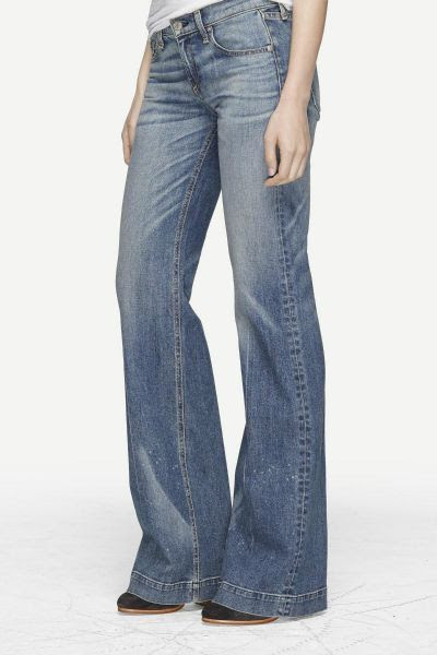 Rag and Bone Wide Leg Jeans