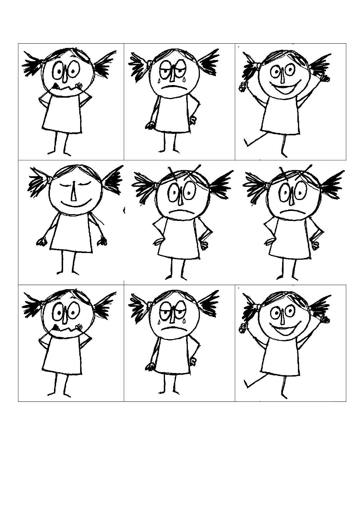 La Couleur Des émotions Suite La Maternelle De Camille