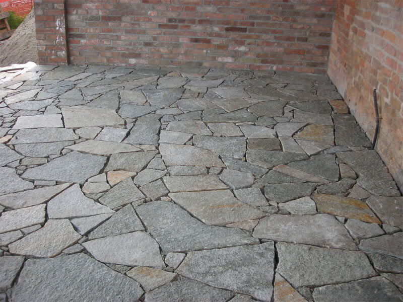 Dormitorio muebles modernos suelos de piedra para exterior - Ceramica rustica para suelos ...