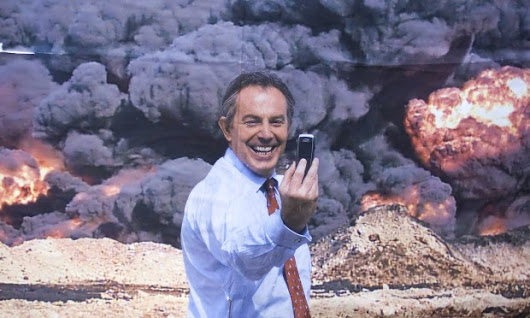 Tony Blair: Shock and Awe, Hell and Damnation | NEWS JUNKIE POST