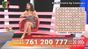 Ana Ferreira sensual em varios momentos