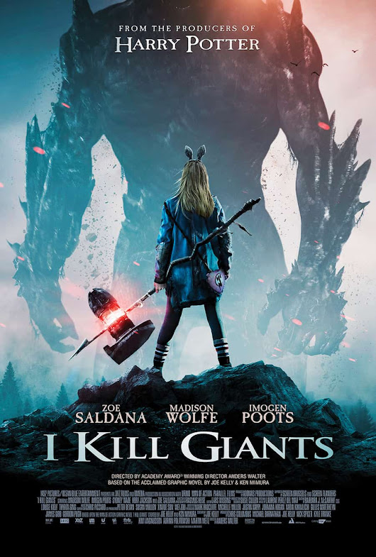 I Kill Giants is in select theaters and on demand TODAY! | Guy and the Blog