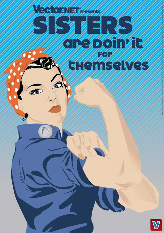 Sisters Can Do It Free Vector / 4Vector