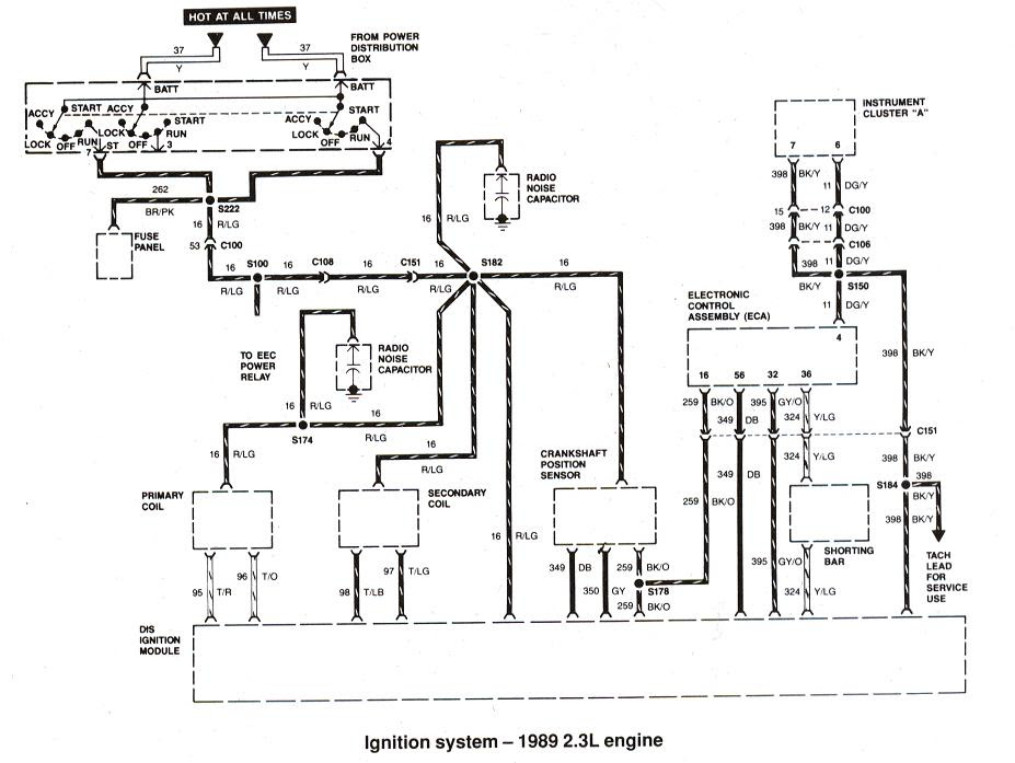 Ford Ignition System Wiring Diagram