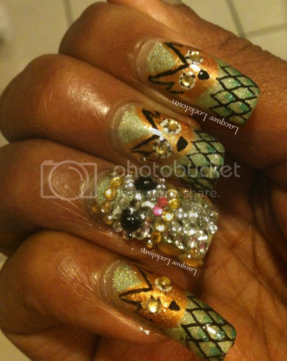 Butter London Trustafarian, owls, owl nail art, Let's Do The Time Warp Challenge, owl manicure, bling, rhinestones, nail art, dandy nails look around, Cm Nail Art, Revlon Quick Dry Base Coat, IMN Out The Door