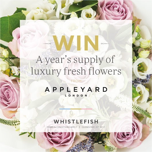 Win a year's supply of luxury fresh flowers