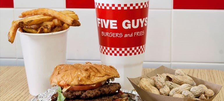 11 Top Fast Food Franchises to Consider - Five Guys