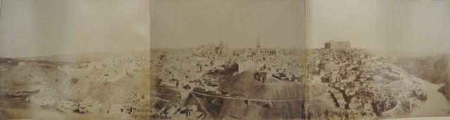 Panorámica completa de Toledo en 1858 por Louis Léon Masson. Cortesía de Carlos Sánchez