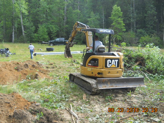 Septic System | Mountain Home Architects, Timber Frame Architect, Custom Homes