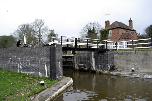 Hatton Top Lock 46, Grand Union Canal, Hatton