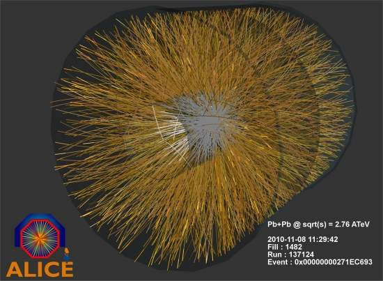 LHC começa fase de colisões pesadas