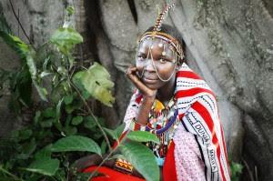 Mujer Masai David Lazar