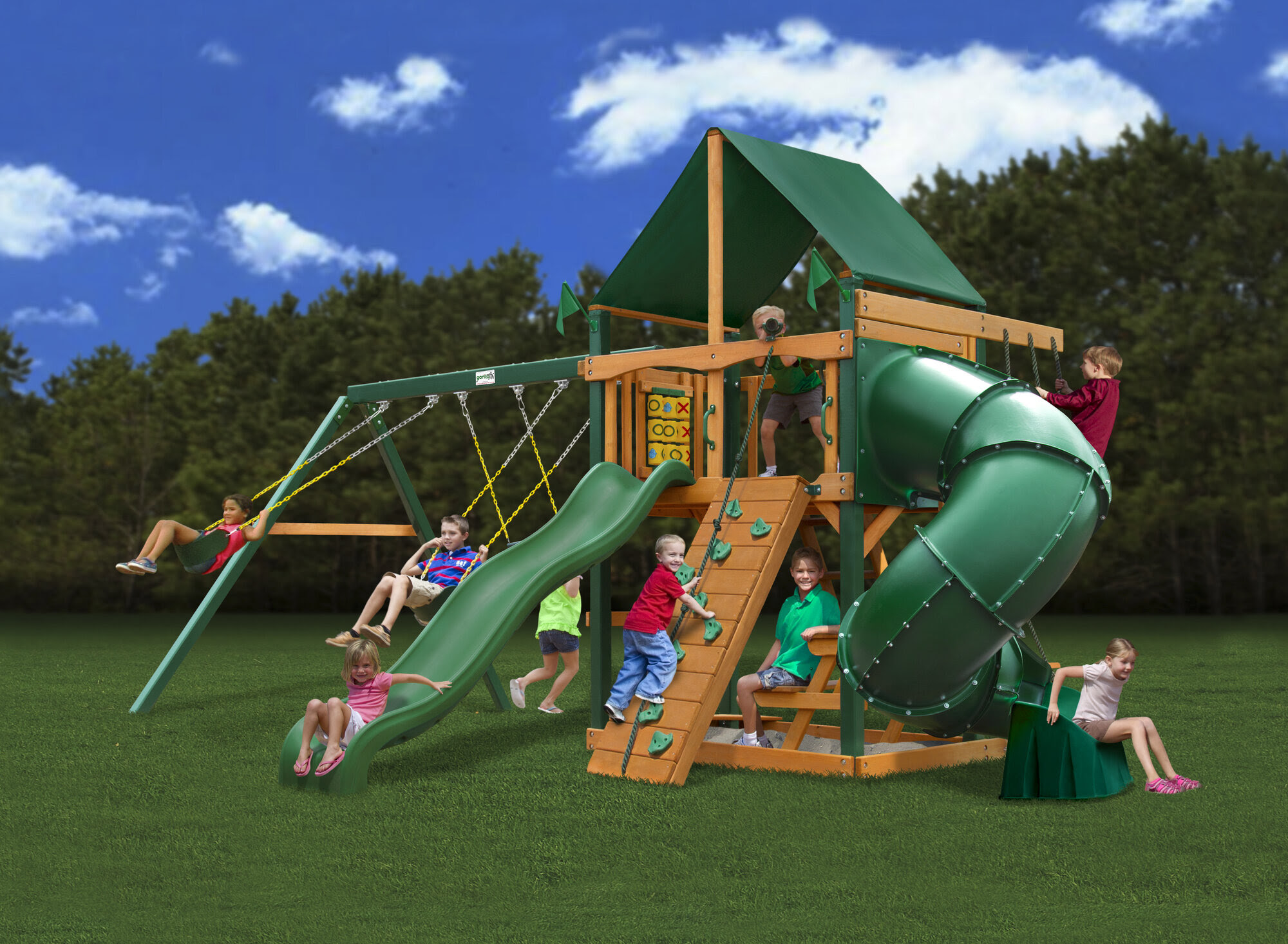 Preschool Commercial Swing Set Playground Outdoor Exercise ...