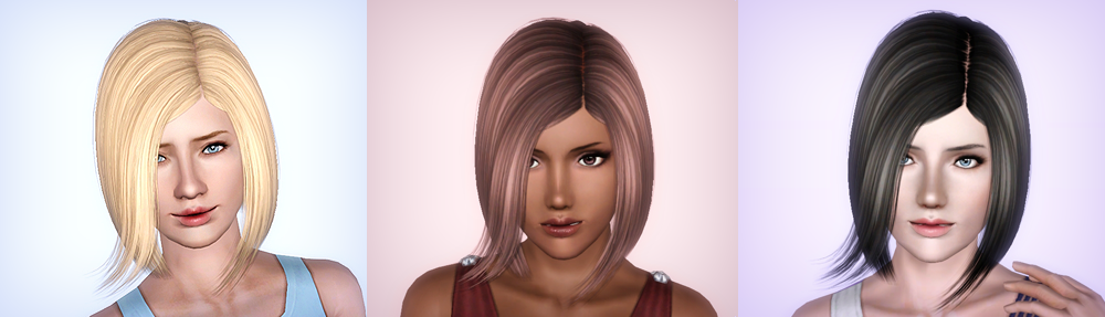 NightCrawler Hair 01 ~ Retextured for Teen to Elders