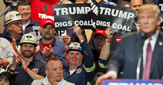 Trump's rollback of environmental rules will fail to bring back coal, report says