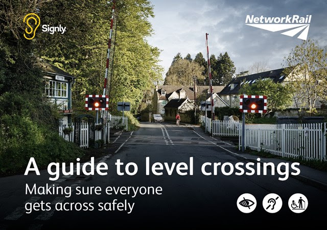 New app to help sign language users cross the railway safely: Everyone Across Safely user guide front sheet