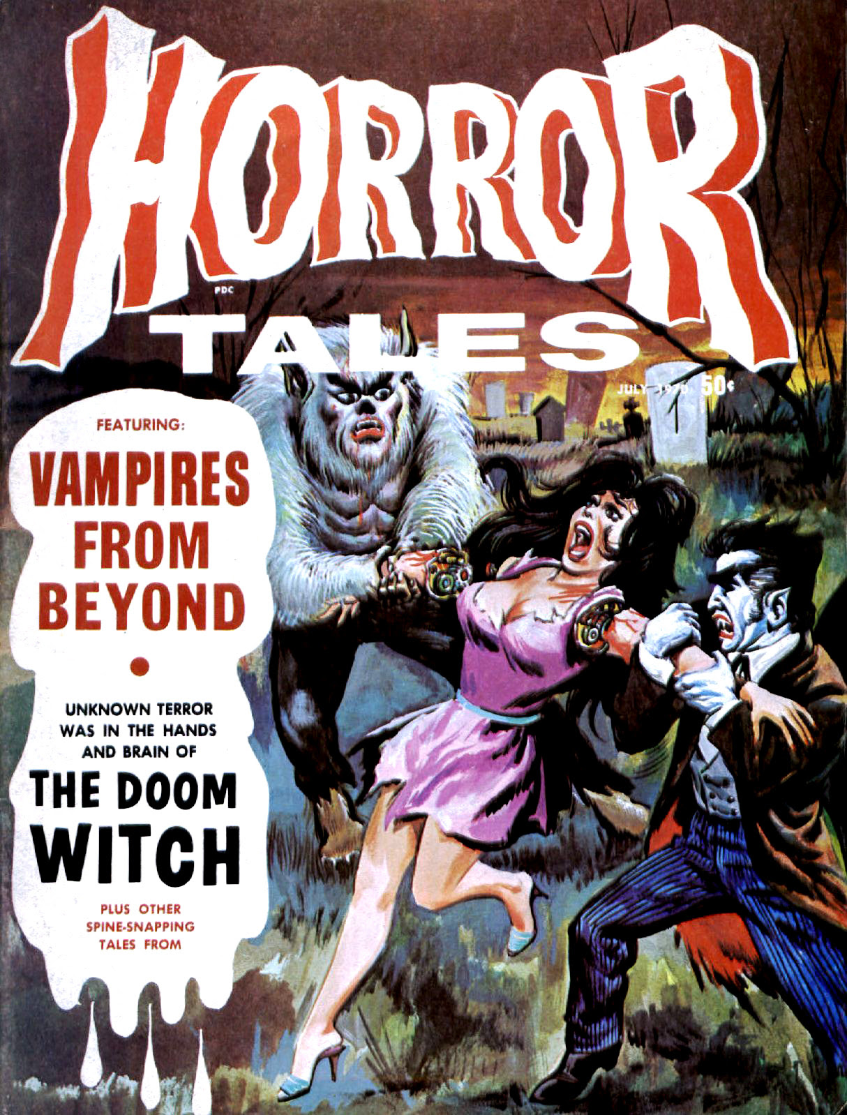Horror Tales - Vol.2 #4 (Eerie Publications, 1970)