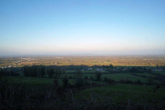 Mass Rock and incredible views over County Limerick - Backpacks and Bunkbeds