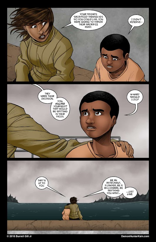 Demon Hunter Kain Chapter 6: The Boy Called Kain, Page 87