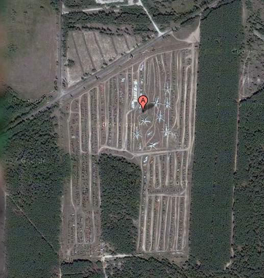Abandoned Russian army scrap metal 18