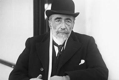 El escritor polaco Joseph Conrad, en una fotografía en torno a 1913.